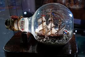 ship in a a ship in a bottle flessenscheepjes ships in bottles mus flickr