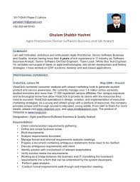 Sample Resume For Software Engineer With 2 Years Experience Qa Resume Sample Entry Level Qa Tester Resume By Mechanical