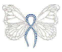 s7189 royal royal blue ribbon butterfly isaacs designs