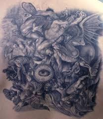 fighting demons tattoos