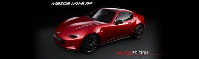 moto mazda mx 5 rf limited edition soul red auto moto e strade pinterest