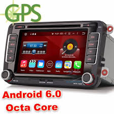octa core android 6 0 car stereo dvd gps vw passat golf jetta