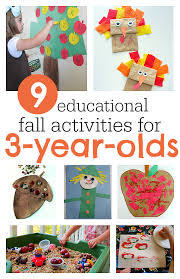 9 must do fall activities for 3 year olds educational activities