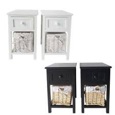 Wicker Nightstands For Sale Wicker Night Stand Furniture Ebay