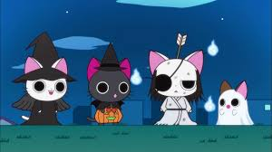 animated halloween cat nyanpire the animation anime tv tropes