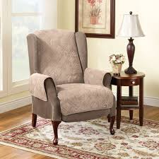 Reclining Wingback Chairs Furniture Leather Wingback Chair With Wingback Chair Recliner