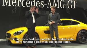 mercedes espa l presentación mundial espectacular mercedes amg gt español