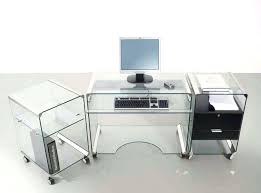 Glass L Shaped Desk Office Depot Glass For Desk Glass Office Desk Ideas Using Transparent Glass