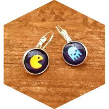 pacman earrings pacman earrings sassybee