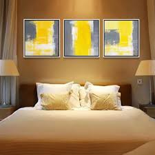 Yellow And Gray Wall Decor by Compare Prices On Yellow And Gray Abstract Art Online Shopping