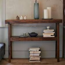 Front Hallway Table 60 Rustic Console Table Narrow Sofa Table Entryway Hallway