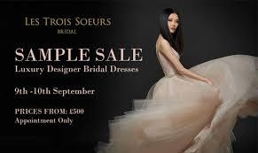 Wedding Dress Sample Sale London Designer Luxury Weddind Dress Sample Sale In London