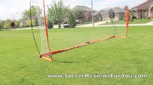 bownet portable soccer goal 8 u0027x24 u0027 youtube