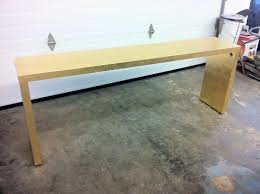 Console Tables Ikea Ikea Malm Console Table By Bijou And Boheme Clever Spray