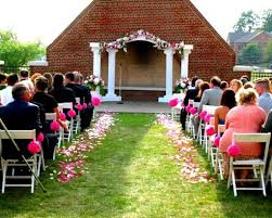 wedding arches and columns ceremony decorating help weddingbee