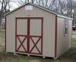 10x12 a frame wood shed kit