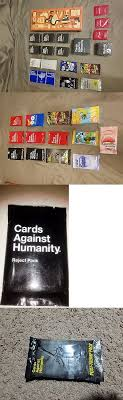 cards against humanity reject pack other card and 2552 cards against humanity