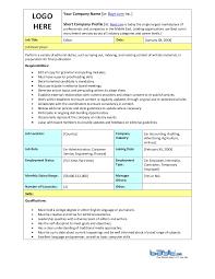 Cashier Job Description Resume by Photo Editor Job Description Creative Melange Job Description