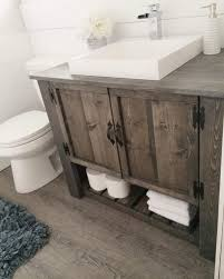 Diy Rustic Bathroom Vanity The Diy Rustic Bathroom Vanity Cabinet Tap The Link Now To