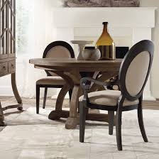 hooker furniture corsica 5 piece round dining set in natural