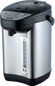tech et6010 6 quart hot water urn with auto dispenser with