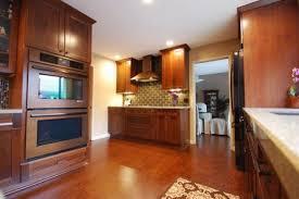 Cork Kitchen Floor - modern kitchen using cork flooring and modern cabinets cork