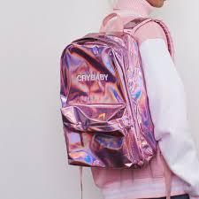 holographic bags koko holographic crybaby backpack kokopiecoco