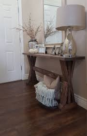Best 25 Farmhouse Table Plans by Table Endearing Ana White Rustic Entryway Table Diy Projects
