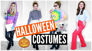 last minute diy halloween costume ideas youtubers youtube