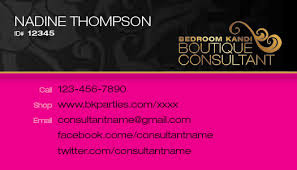 Bedroom Kandi Consultant Reviews Bedroom Kandi Horizontal Business Card 16 00 Title