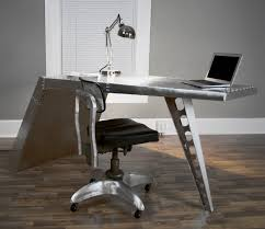desks designed with modern look and industrial styling with