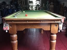 build a pool table antique 6 3 foot snooker table for sale very good build quality