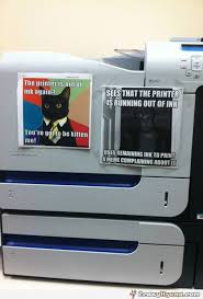 Printer Meme - printer out of ink funny meme captions jpg