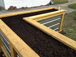 Pvc Raised Garden Bed - building a self watering raised garden bed u2013 frugal living