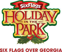 Six Flags Georgia Water Park Record Setting Holiday In The Park Lights Up Bigger And Brighter