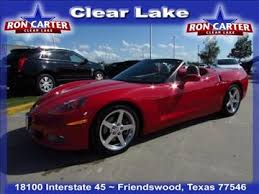 corvette houston tx chevrolet corvette 3lt in houston tx for sale used cars on