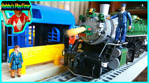 cool toy trains with the real train cars funny polar express