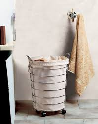 Canvas Laundry Hamper by Chrome Laundry Hamper In Clothes Hampers