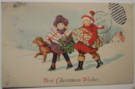 best vintage christmas card and wishes