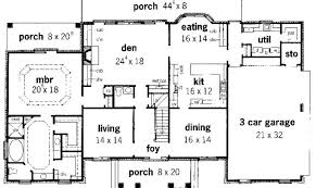 Georgian Mansion Floor Plans The 19 Best Georgian House Design Building Plans Online 537