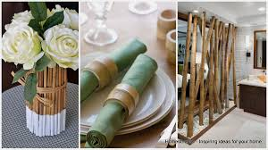 home and decore 18 epic bamboo crafts for your home and decor homesthetics