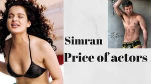 simran budget and price of actors 2017 movies salary of
