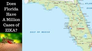 Clearwater Florida Map by Could Florida Have A Million Cases Of Zika Clearwater Florida