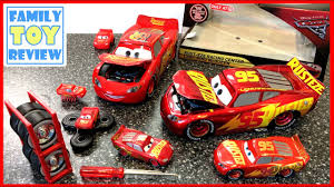 cars 3 toys rust eze racing center lightning mcqueen jada toys