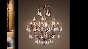 chandelier youtube 20 collection of restoration hardware chandelier
