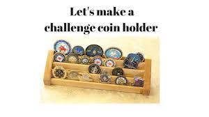 Flag Display Case Plans Challenge Coin Holder Build Youtube