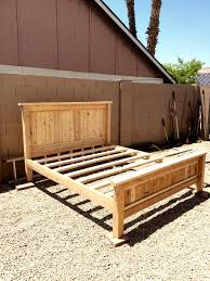 Woodworking Plans For Beds by Bed Frames Diy King Size Bed Frame Plans Platform King Size Bed