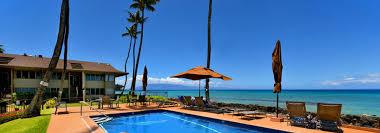 hale kai oceanfront condominiums west maui oceanfront vacation