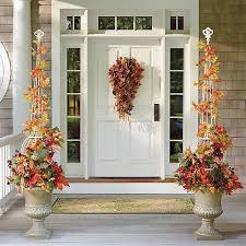outdoor fall decorations diy fall outdoor decorations best 25 fall porch decorations ideas
