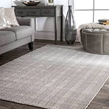 Hand Loomed Rug Amazon Com Nuloom Hand Loomed Herringbone Cotton Flat Woven Area
